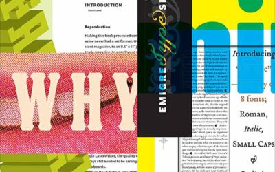 Emigre Type Foundry Pretty Much Designed the '90s—Here's What it Looked Like